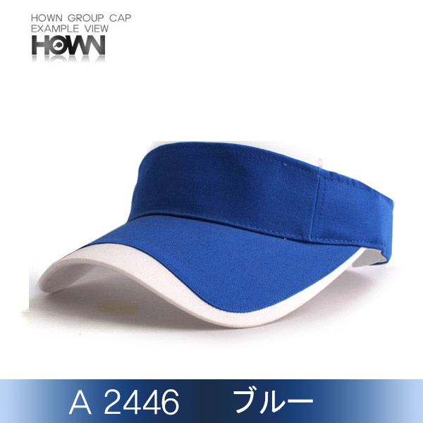 A2446<br> サンバイザー (ブルー)