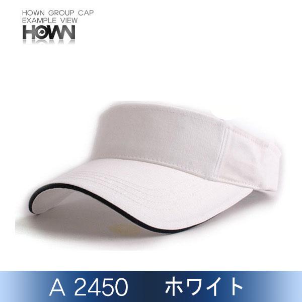 A2450-02<br> サンバイザー (ホワイト)