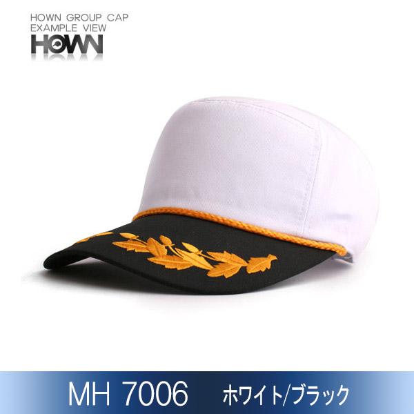 MH7006<br> イベント帽子 (ホワイト/ブラック)