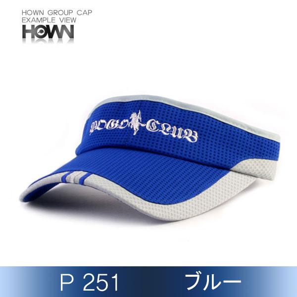 P251<br> サンバイザー (ブルー)