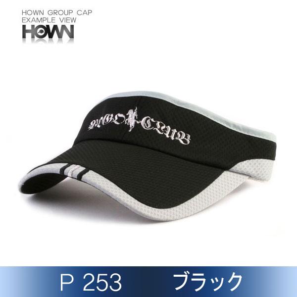 P253<br> サンバイザー (ブラック)
