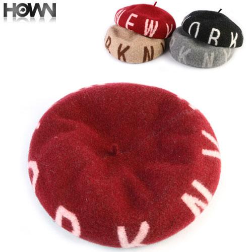 NYウールベレー帽