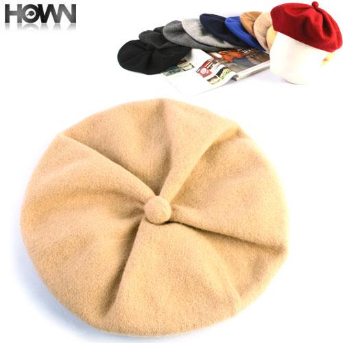 ウールベレー帽